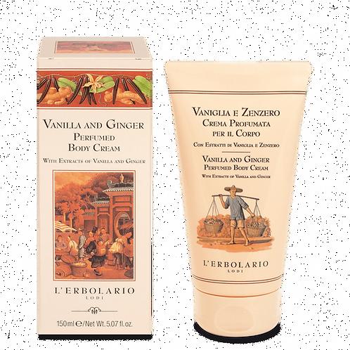 Vanilla and Ginger Perfumed Body Cream