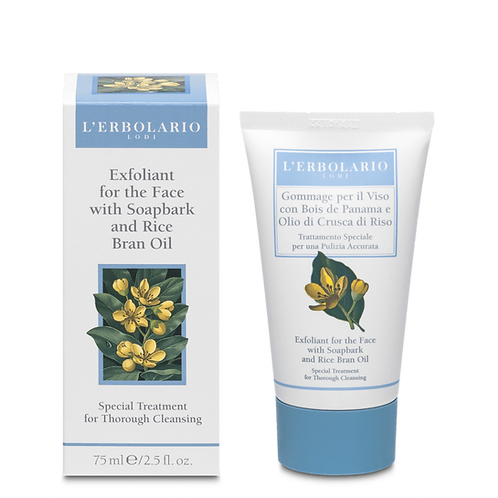 Exfoliant for the Face with Soapbark and Rice Bran Oil