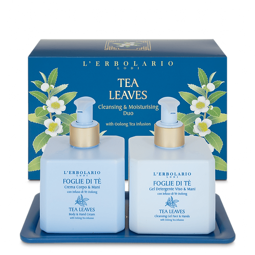 Tea Leaves Cleansing & Moisturising Duo
