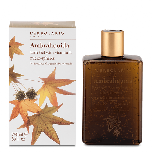 Ambraliquida Bath Gel with Vitamin E Micro-spheres