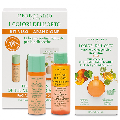 The Colours of the Vegetable Garden Facial Kit - Orange