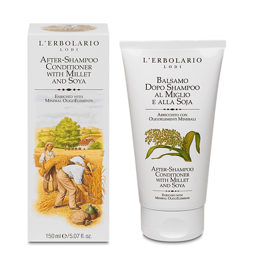 After-Shampoo Conditioner with Millet and Soya