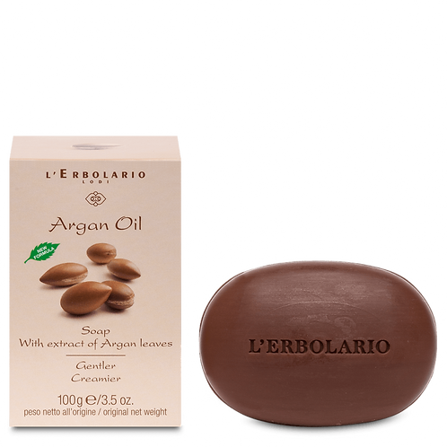 Argan Oil Soap with extract of Argan Leaves