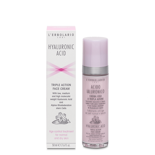 Hyaluronic Acid Triple Action Face Cream (normal and dry skin)