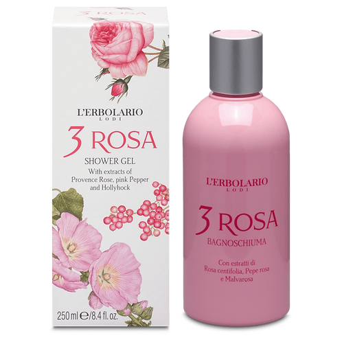 3 Rosa Shower Gel