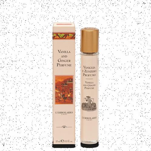 Vanilla and Ginger Perfume (15 ml)