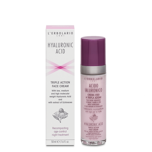 Hyaluronic Acid Triple Action Face Cream (night treatment)