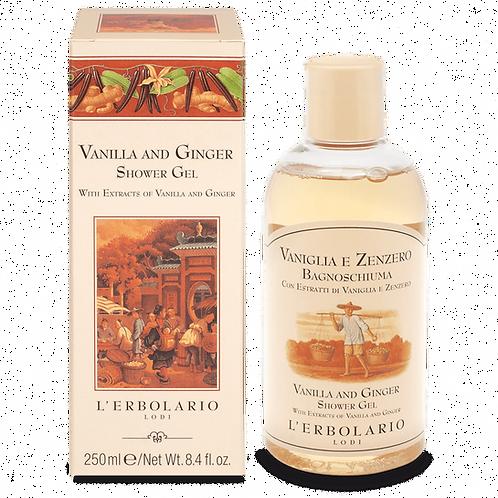 Vanilla and Ginger Shower Gel