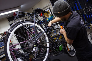 In the Bike Shop