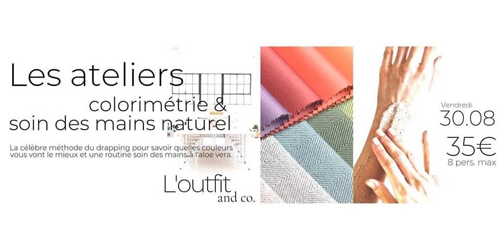 Atelier cocooning - colorimétrie & soin des mains