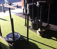 Sled at CrossFit Widnes