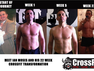 Ian Moses 45 Year Old Senior Manager and Family Man... Total BODY TRANSFORMATION