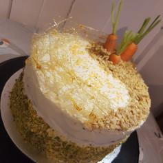 Birthday Carrot Cake
