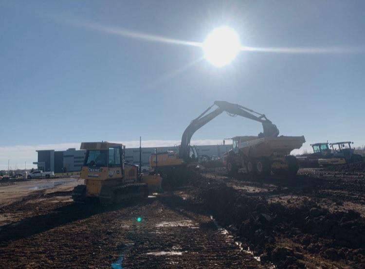 Tri-Tech, Adranos: site development & utilities