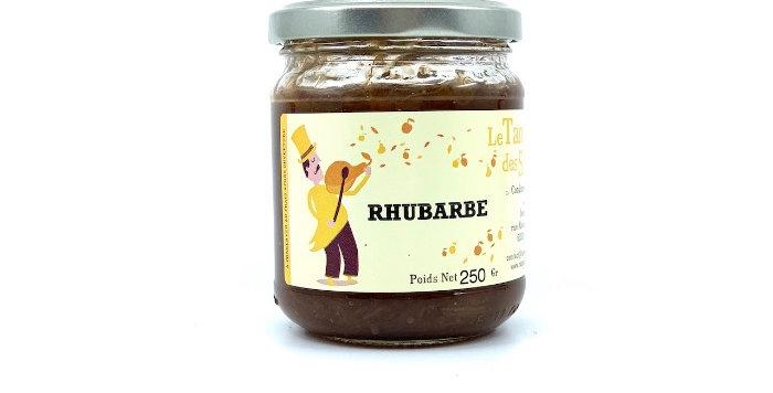 Confiture Rhubarbe , 250g, Le Tango des Saveurs