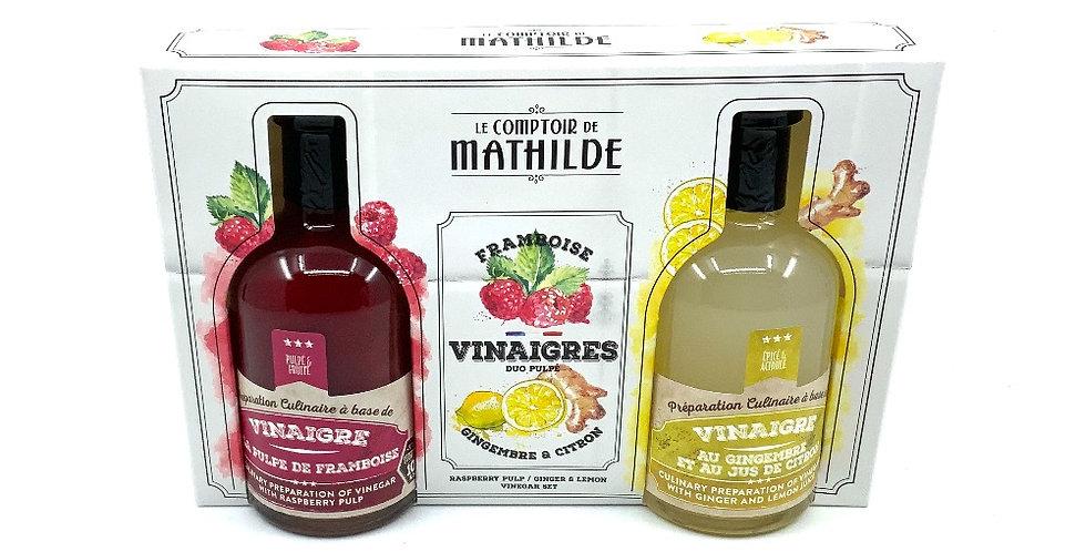 Coffret Amateur Vinaigres, Le Comptoir De Mathilde