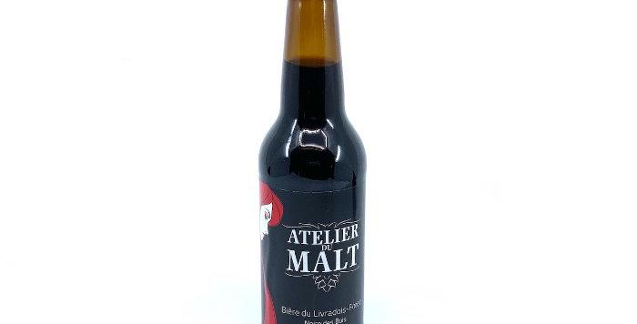 Bière Stout, 33cl, L'Atelier du Malt*2€90