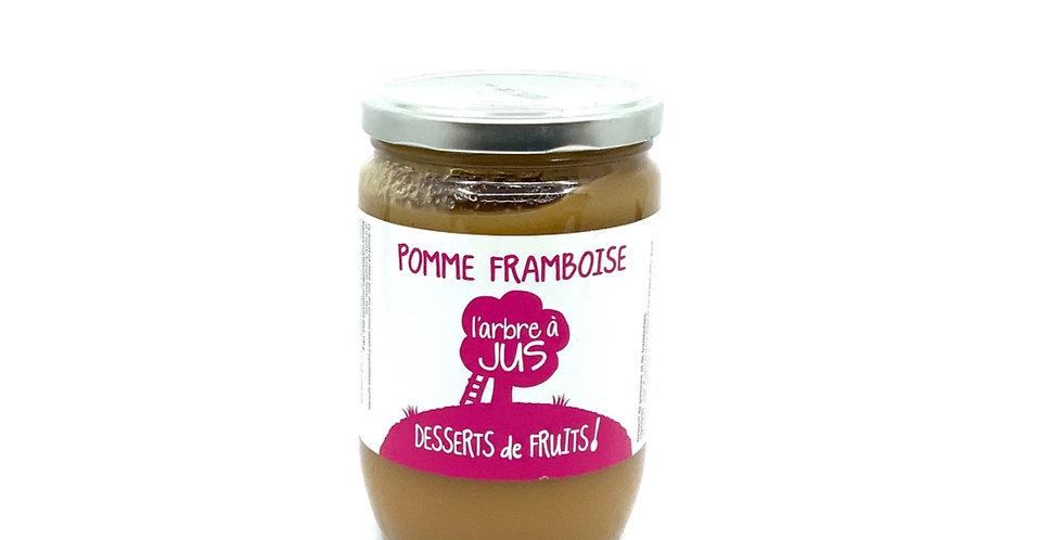 Compote Pomme Framboise 620Gr, Bissardon