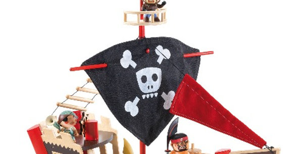 Arty Toys The Pirat Boat, Djeco