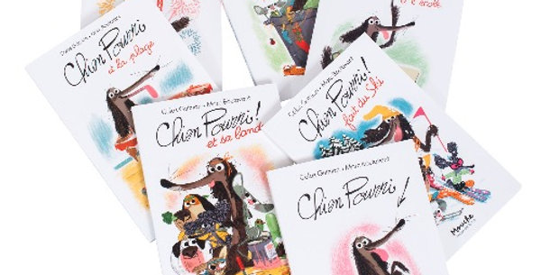 Livre Chien Pourri, Moulin Roty