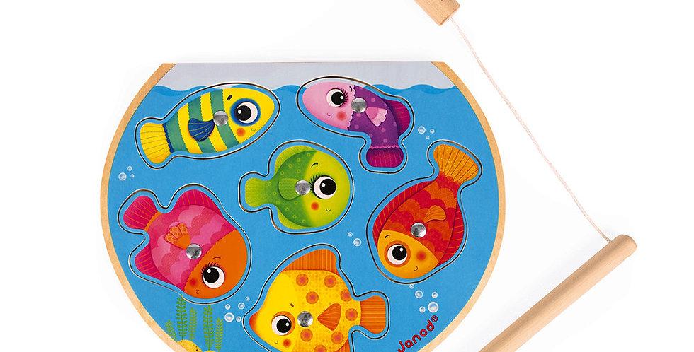 Puzzle Speedy Fish, Janod
