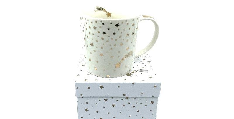 Mug Shooting Star, Porcelaine, PPD