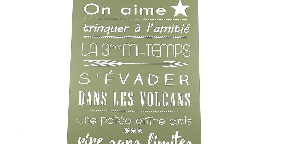 Pancarte GM AvocatPersonnalisée Auvergne, Sophie Janière.