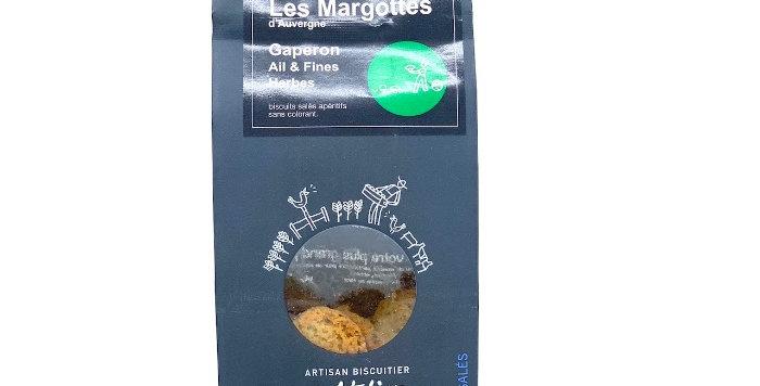 Margottes d'Auvergne, Gaperon Ail et Fines Herbes, 120g, L'Atelier Auvergnat