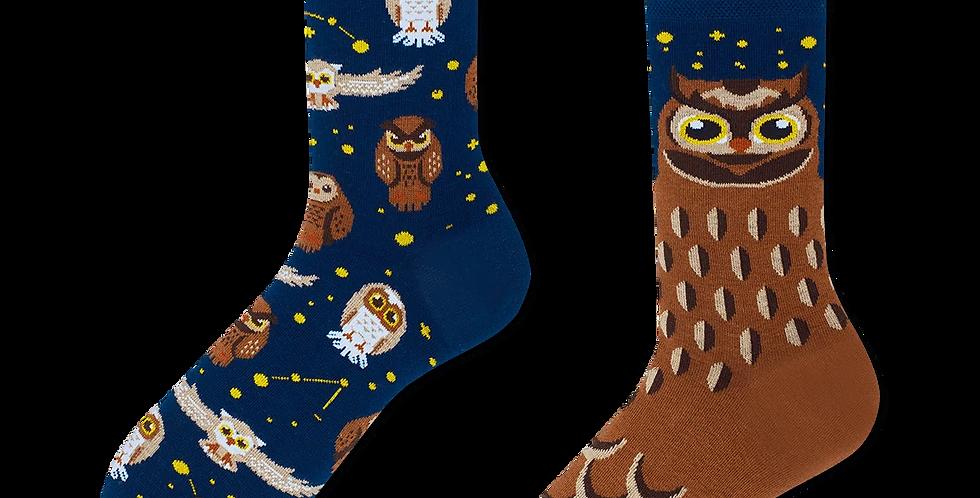 Chaussettes Dépareillées Owly Moly, Many Mornings