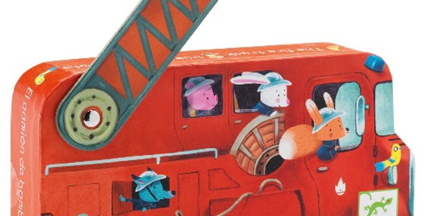 Puzzle 16Pcs Le Camion De Pompier, Djeco