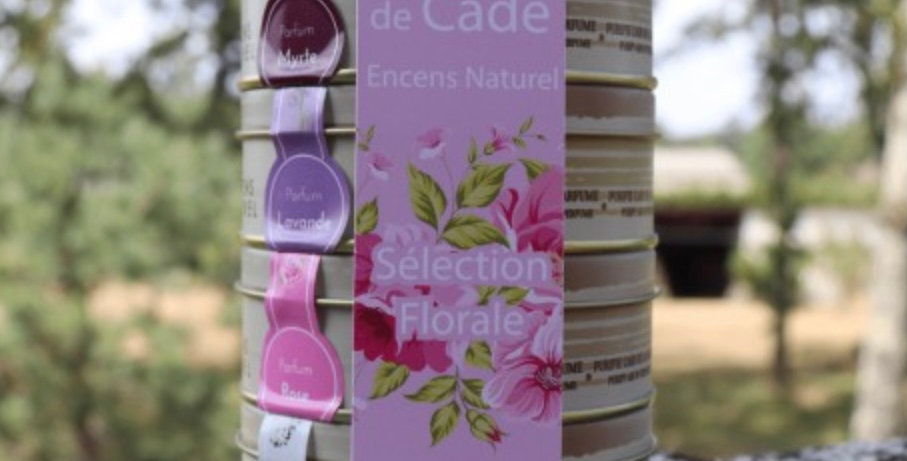 Boîtes X4 Encens En Poudre Sélection Florale, Ambiance Cade