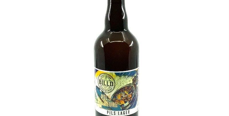 Bière Pils À L'heure 75Cl, Billd Le Réveil Des Volcans