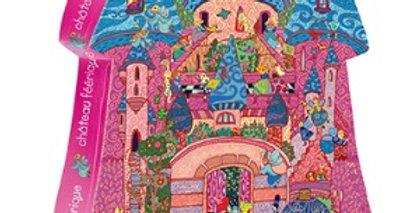 Puzzle Château , 54 pièces, Djeco