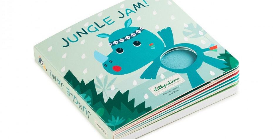 Livre Tactile et Sonore, Jungle, Lilliputiens