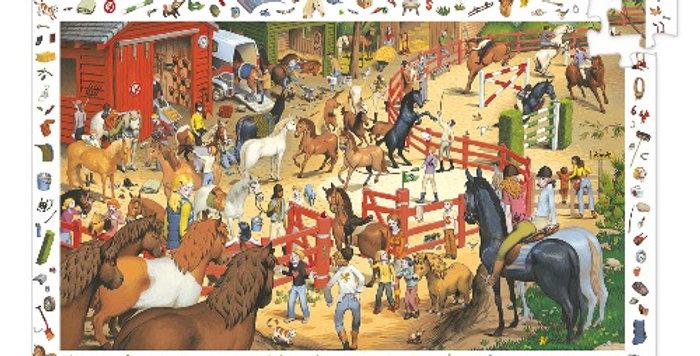 Puzzle Equitation, 200 pièces, Djeco