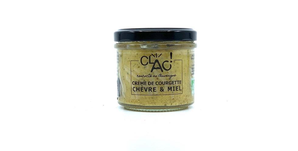 Crème de Courgette Chèvre & Miel, 100g, Clac
