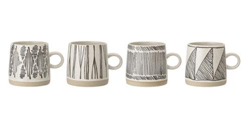 Mug Stoneware H9D9, Bloomingville