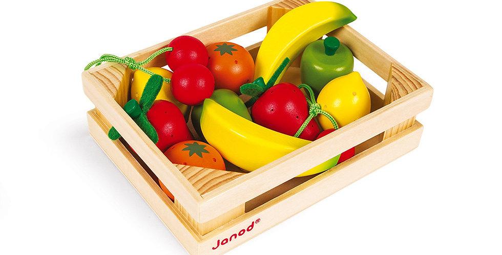 Cagette 12 Fruits, Janod