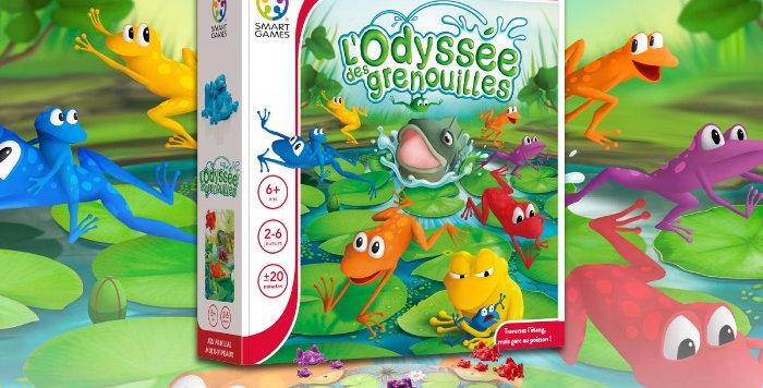 L'Odyssée Des Grenouilles, Smart Games