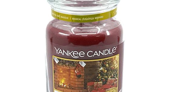Bougie Cheminée de Noël, Yankee Candle