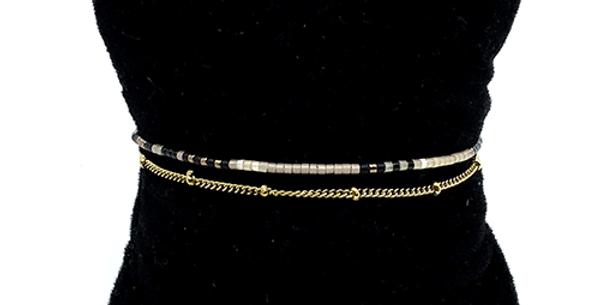 Bracelet Double Doré