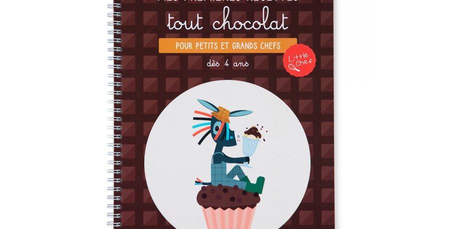 Livre Recettes Tout Chocolat, Lilliputiens