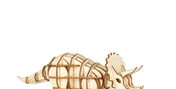 Puzzle 3D Tricératops,Kikkerland