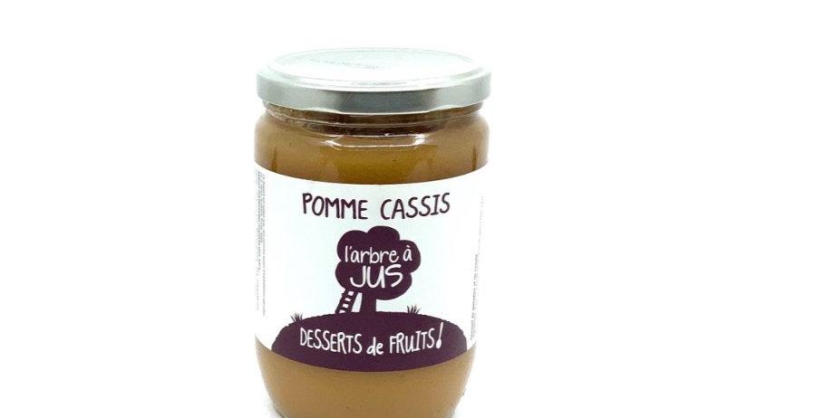 Compote Pomme Cassis 620Gr, Bissardon