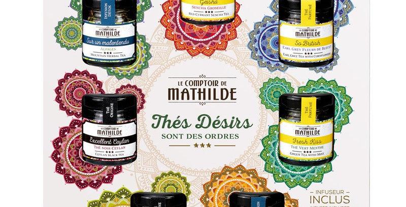Coffret Thés Infusions, Comptoir De Mathilde