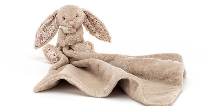 Blossom Bea Beige Bunny Soother, Jellycat