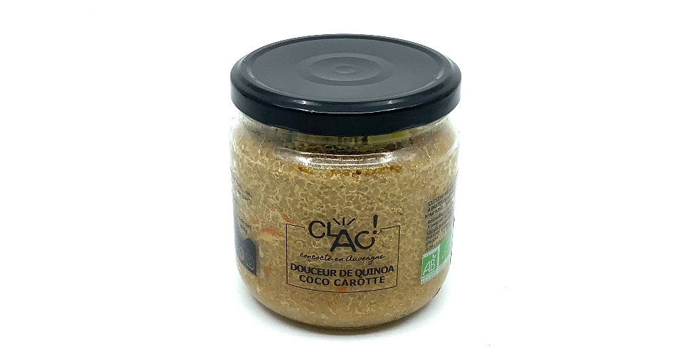 Douceur De Quinoa Coco Carotte 400Gr, Clac