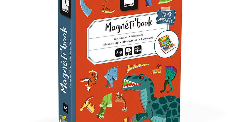 Magnetibook Dinosaures, Janod