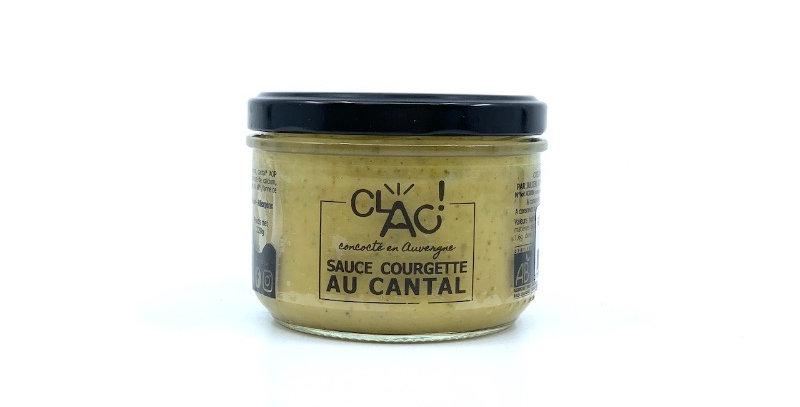 Sauce Courgette au Cantal, 200g, Clac