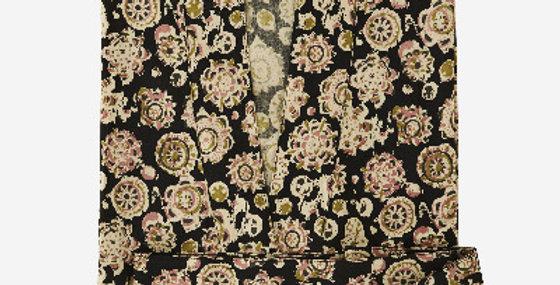 Kimono Noir Fleuri, Madam Stoltz